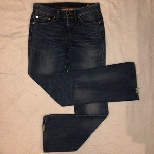 Tory Burch Jeans Classic Tory Bootcut 27 MSRP $275